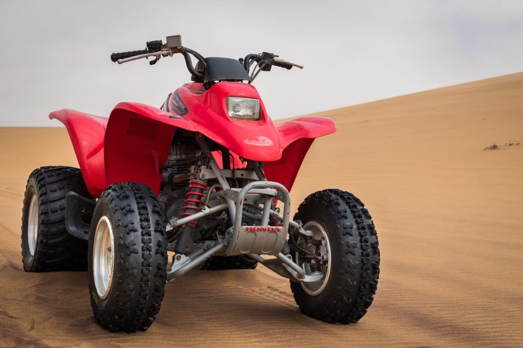 weight when buying an ATV