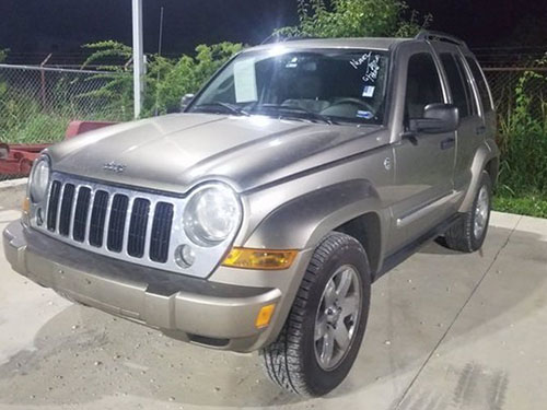 Jeep Liberty front view